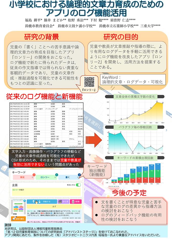 日本教育工学会第34回全国大会 ポスターセッション